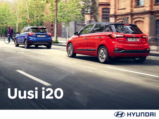 Uudistunut Hyundai i20 nyt ennakkomyynnissä