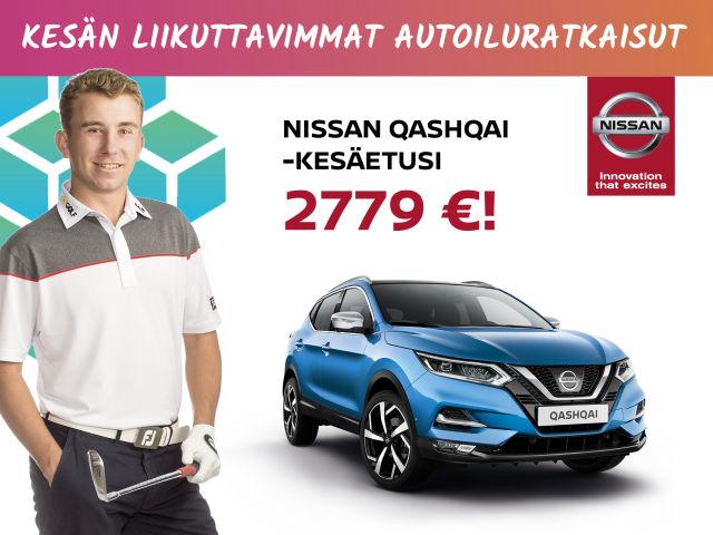 Nissan Qashqai -kesäetusi 2 779 €
