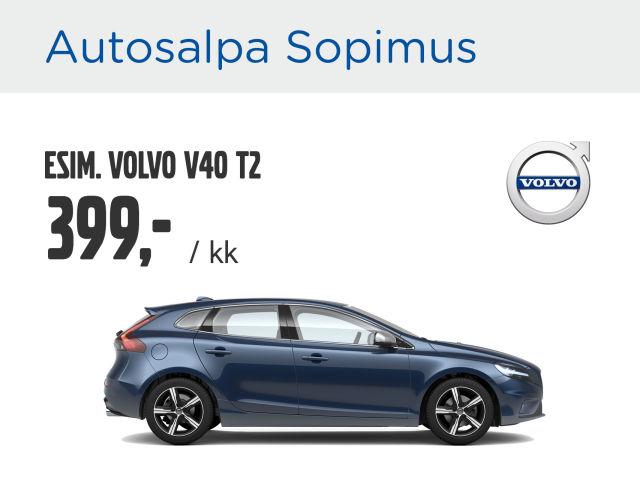 Autosalpa Sopimus: Volvo V40 & V60