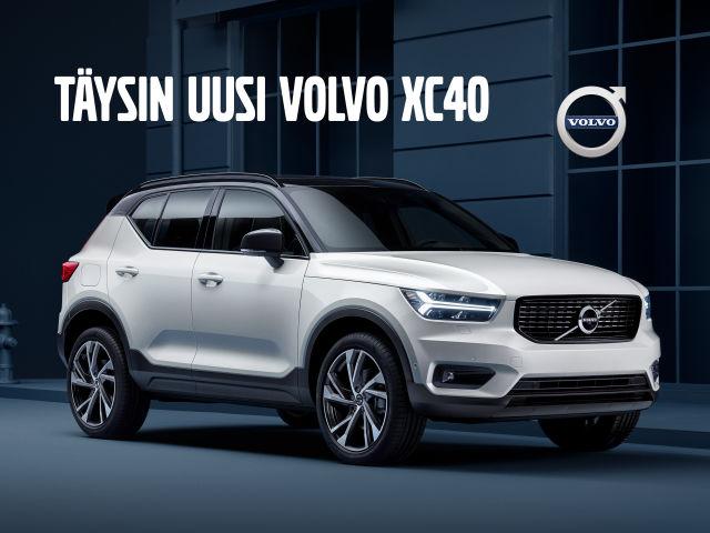 Ennakkomyynnissä täysin uusi Volvo XC40