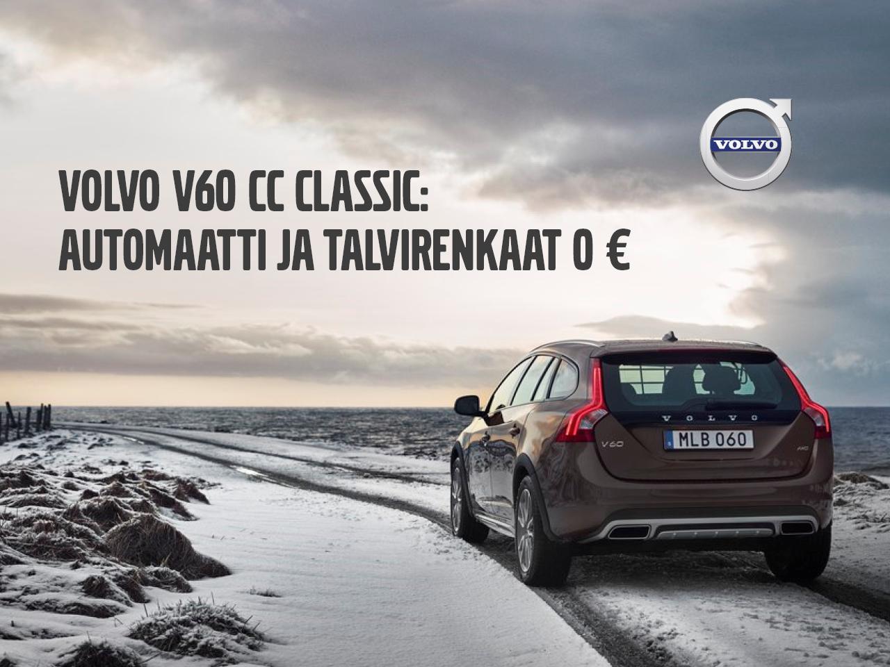 Huippuedut Volvo V60 CC Classic -malliin