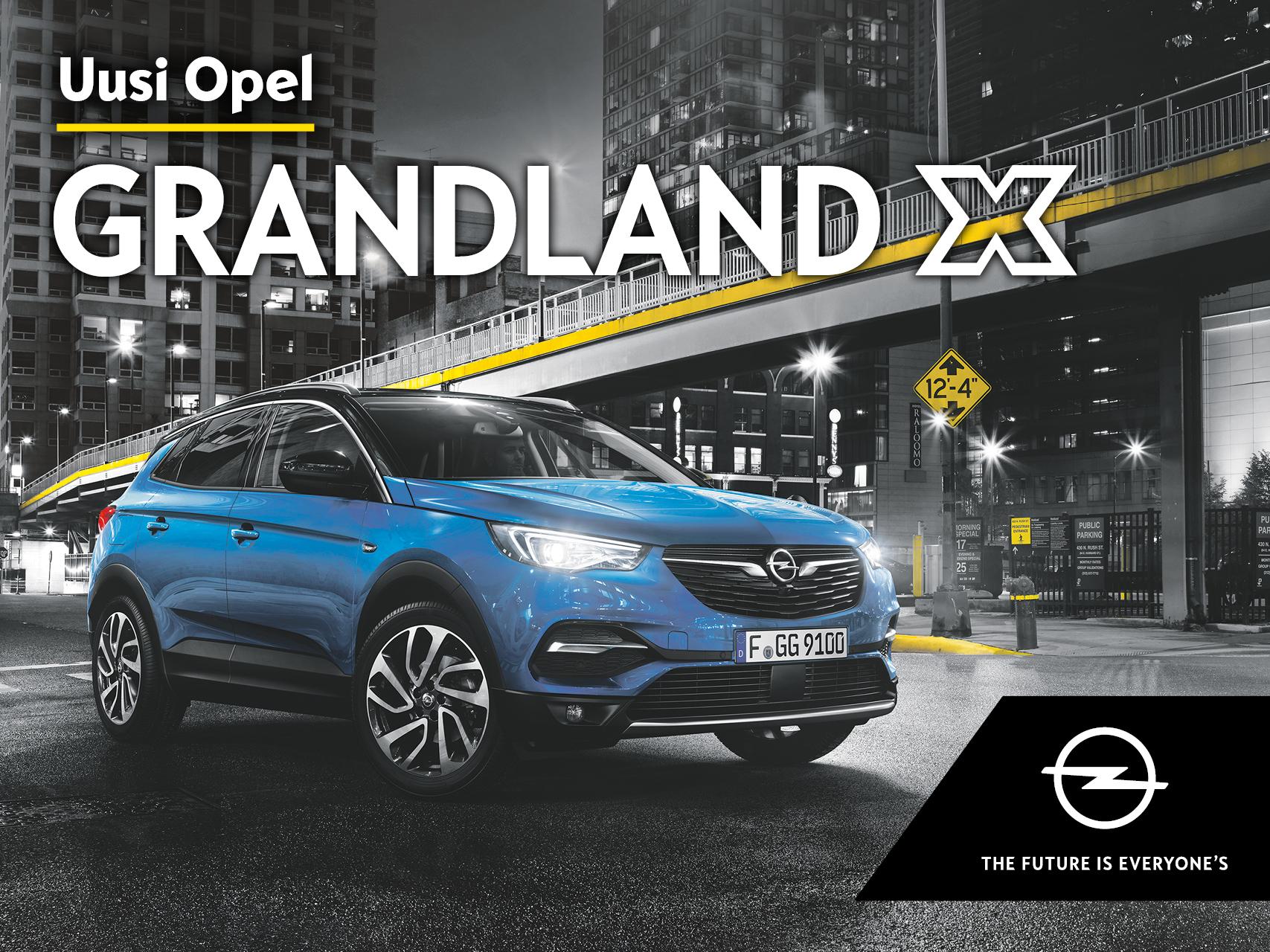 Ensiesittelyssä: Opel Grandland X