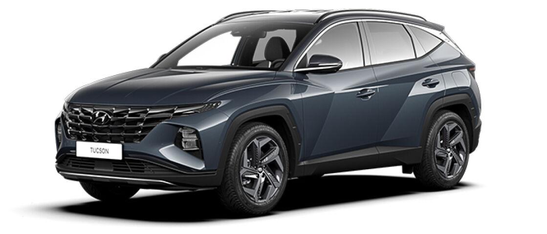 hyundai Tucson 1,6 T-GDI 180 hv 48V hybrid 4WD 7-DCT-aut Premium MY21