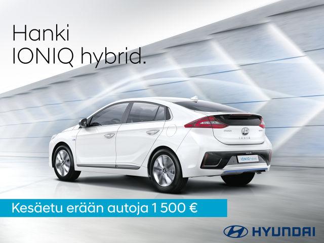 Kesäetu IONIQ hybridiin
