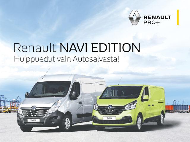 Huippuedut erään Renault tavara-autoja