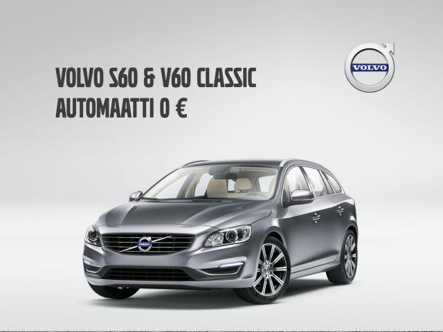 S60/V60 Classic: automaatti 0 €