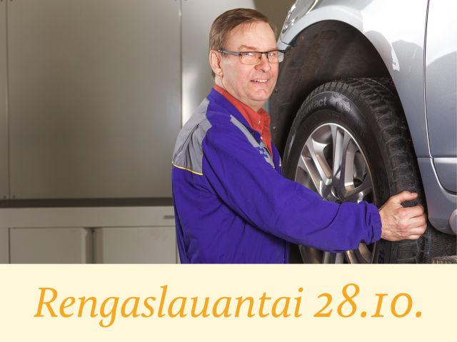 Autosalpa Klubilaisten Rengaslauantai 28.10.