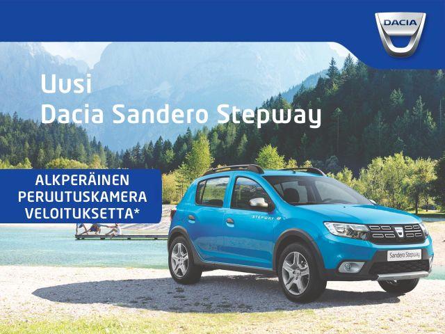 Dacia henkilöautoihin peruutuskamera veloituksetta