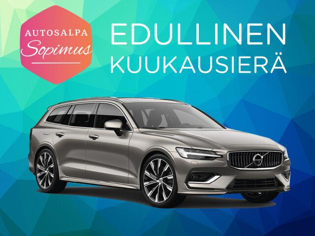 ERÄ: Volvo V60 T6 TwE Business R-Design Edition esim. 399 €/ kk
