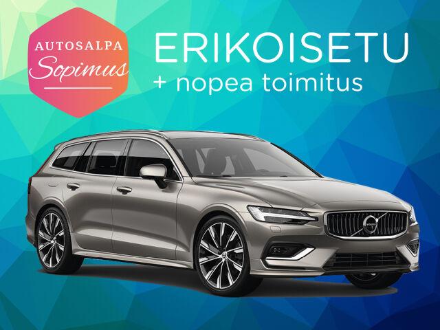 Volvo V60 T6 TwE Business R-Design Edition esim. 399 €/ kk
