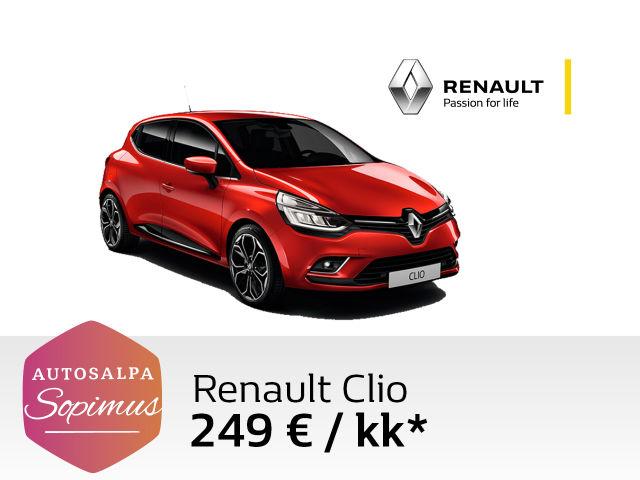 Renault Clio tasaerin 249 € / kk