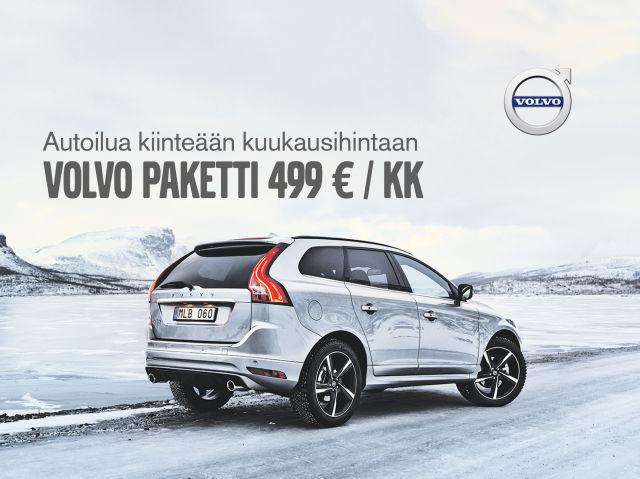 Volvo Paketti nyt 499 € / kk