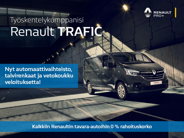 Rajattu erä: Renault Trafic huippueduin