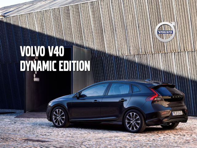 Volvo V40 Dynamic Edition