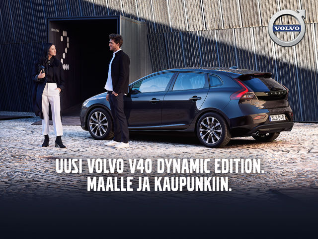 Volvo V40 Dynamic Edition - etusi 2 630 €