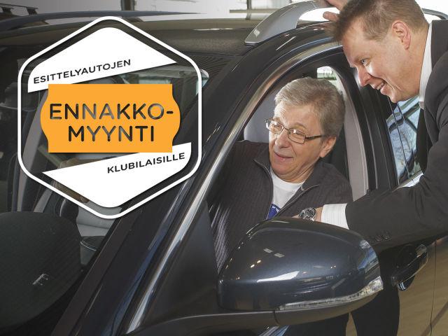 Esittelyautojen ennakkomyynti Autosalpa Klubilaisille