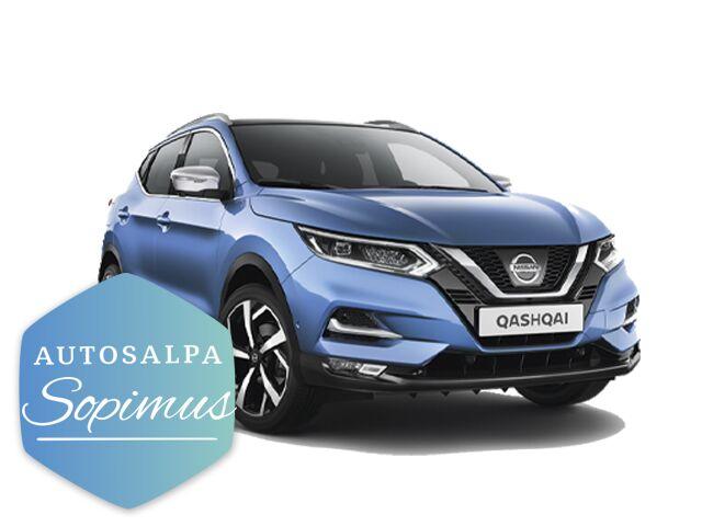 Nissan Qashqai DIG-T N-Connecta esim. 299 € / kk