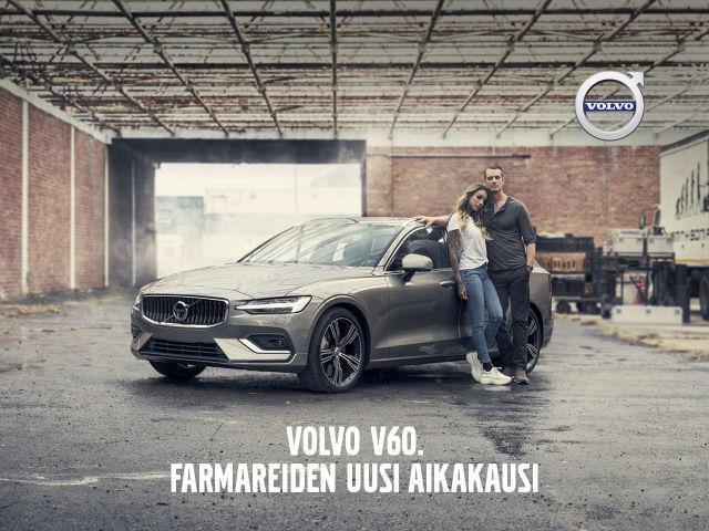 Koe täysin uusi Volvo V60