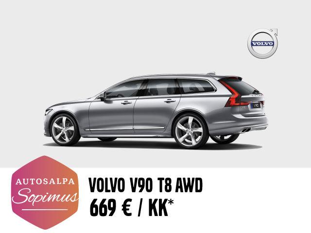 Volvo V90 669 € / kk