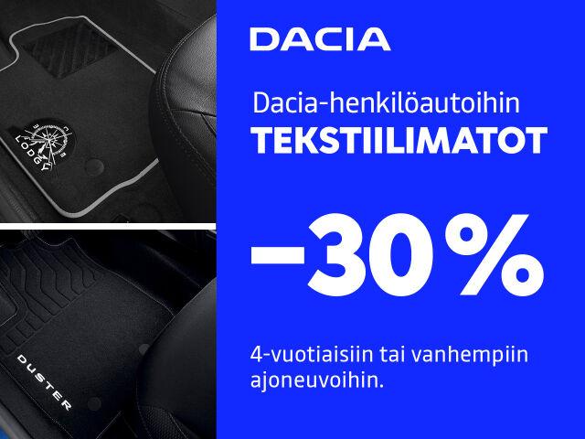 TEKSTIILIMATOT -30%