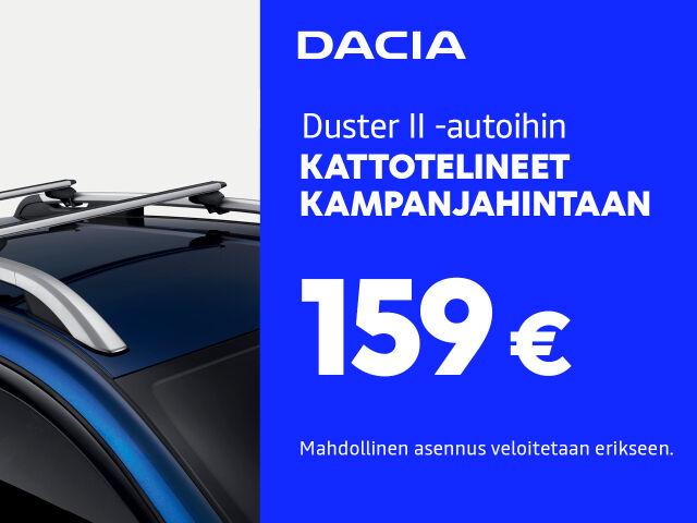 Kattoteline Duster II -malliin