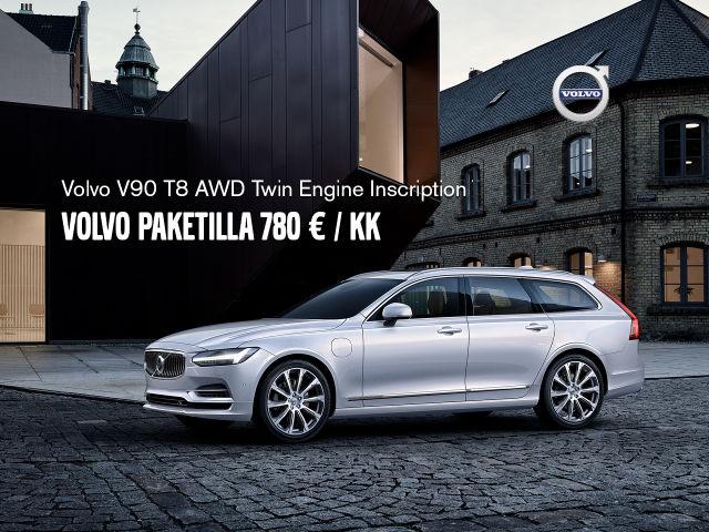 V90 Volvo Paketilla 780 € / kk