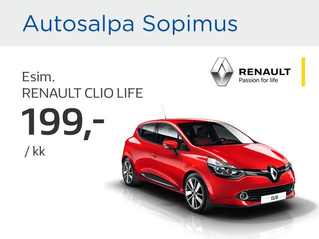 Autosalpa Sopimus: Renault Clio Life