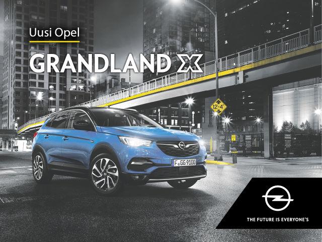 Opel Grandland X -malliin huippuedut