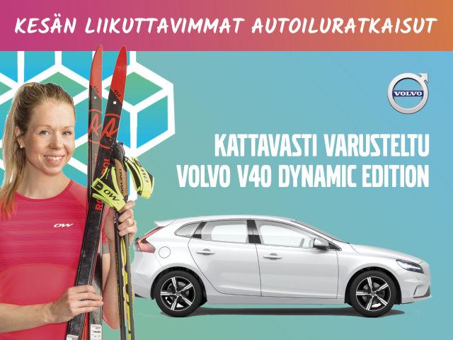 Volvo V40 Dynamic Edition - kesäetusi 2 630 €