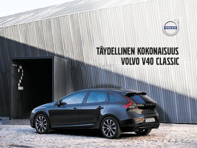 Volvo V40 Classic - täydellinen kokonaisuus