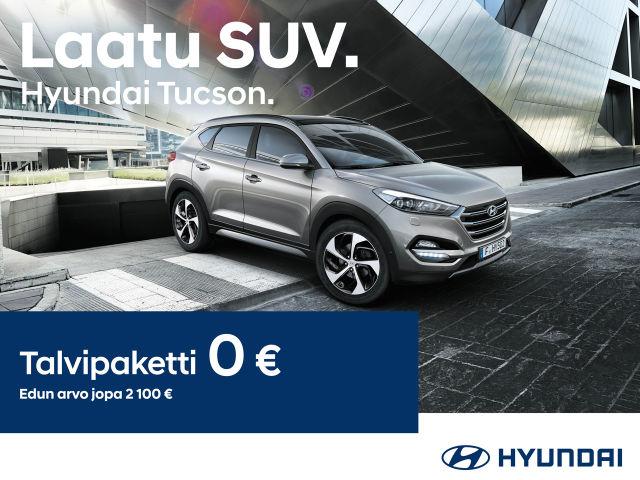 Hyundai Tucsoniin talvipaketti 0 €