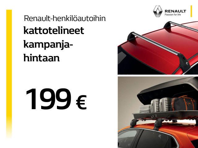 Kattotelineet kampanjahintaan 199 €