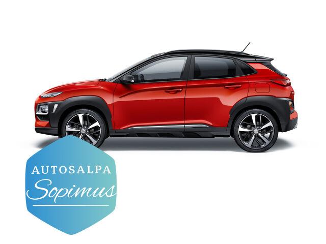 Hyundai Kona 1,0 Comfort 299 € / kk