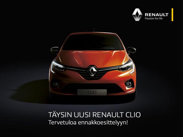 Uusi Renault Clio ennakkoesittelyssä