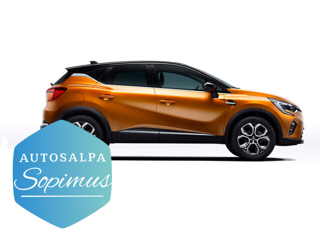 ERÄ: Renault Captur Festival aut esim. 298 € / kk