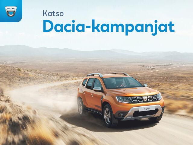 Katso Dacia-kampanjat