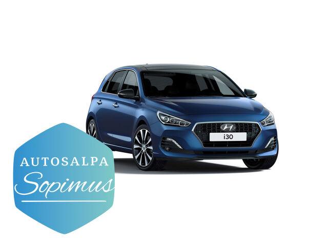 Hyundai i30 Hatchback esim. 258 € / kk
