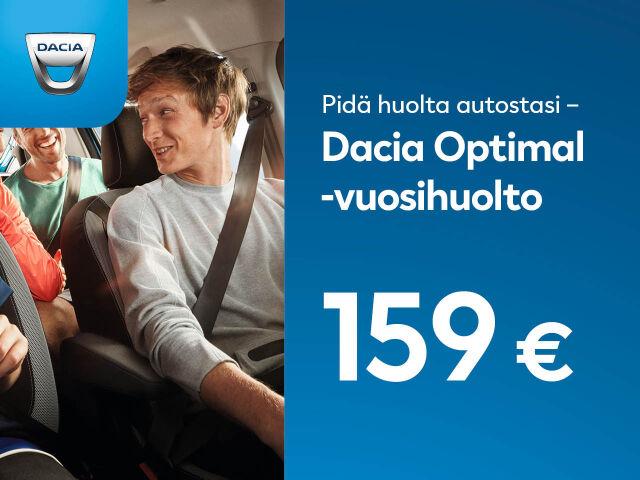Dacia Optimal -vuosihuolto 159 €