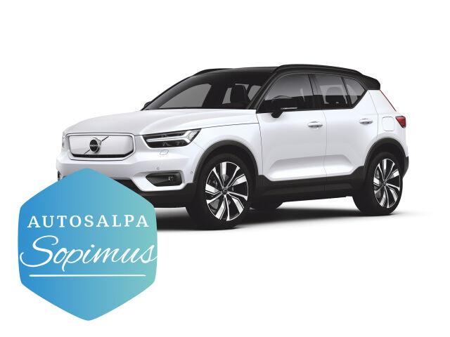 ERÄ: Volvo XC40 Recharge täyssähköauto 659 € / kk