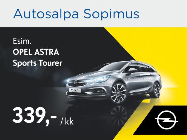 Autosalpa Sopimus: Opel Astra ST