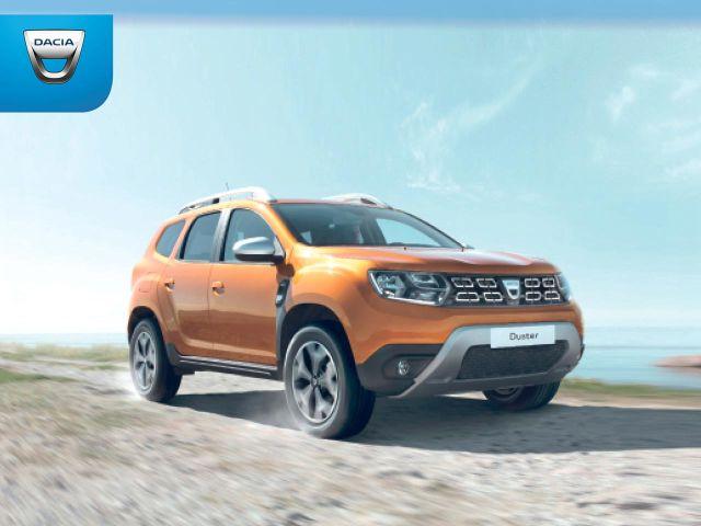 Uuden Dacia Dusterin ostajalle Adventure Pack etuhintaan