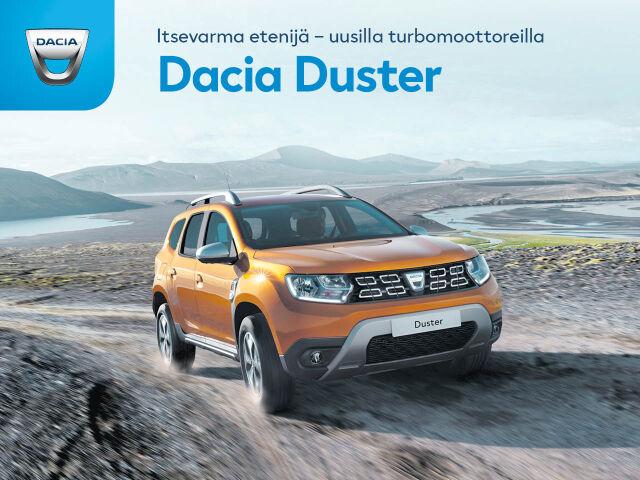 Tutustu Dacia Dusterin ja Lodgyn uusiin turbomoottoreihin