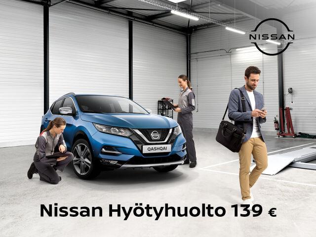 Nissan Hyötyhuollon hinta