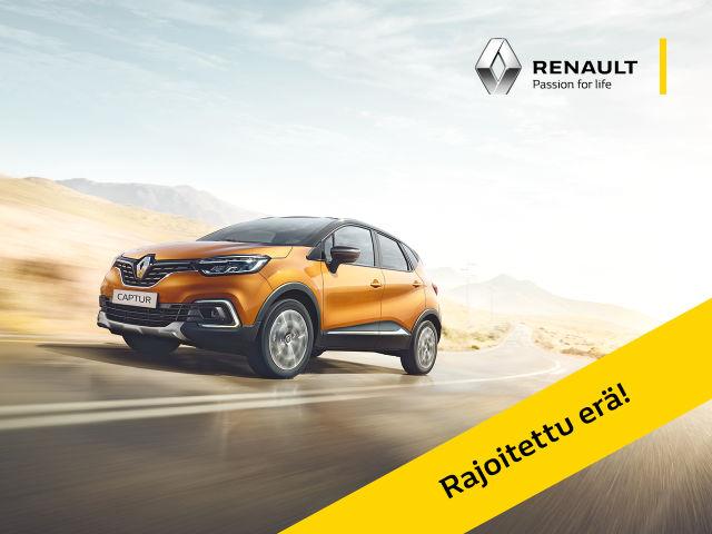 Erä Renault Captur -malleja huippueduin