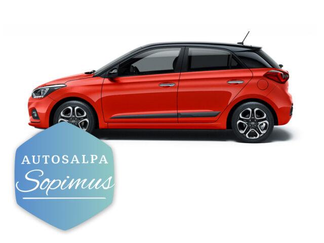 Hyundai i20 Hatchback Black Edition aut. esim. 289 € / kk
