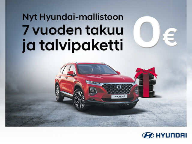 Talvipaketti veloituksetta Hyundai-mallistoon