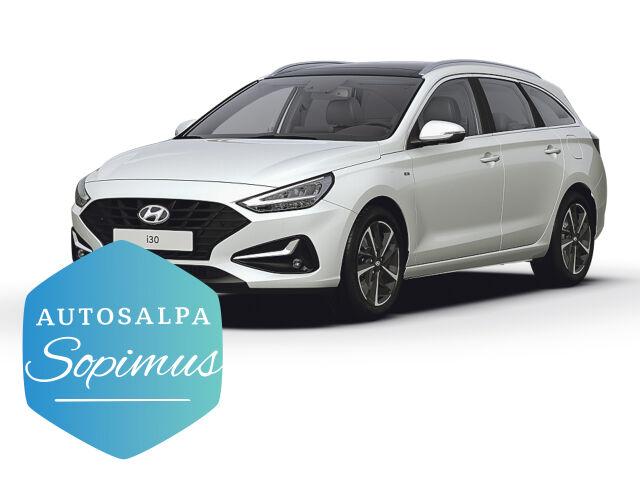 Hyundai i30 Wagon 1,5 T-GDI 48V hybrid aut Comfort Plus esim. 299 €/ kk