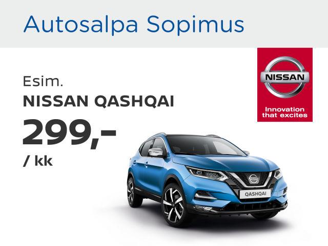Autosalpa Sopimus: Nissan Qashqai
