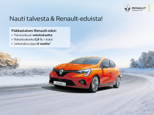 Hyödynnä Renault-talvikampanjat