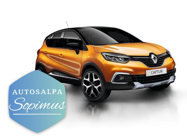 Renault Captur aut esim. 279 € / kk